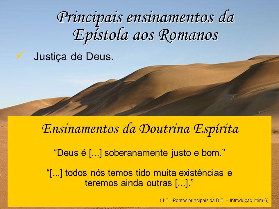 Principais ensinamentos da Epístola aos Romanos