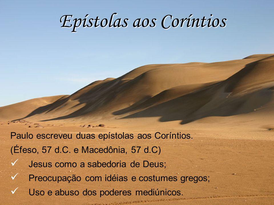 Epístolas aos Coríntios