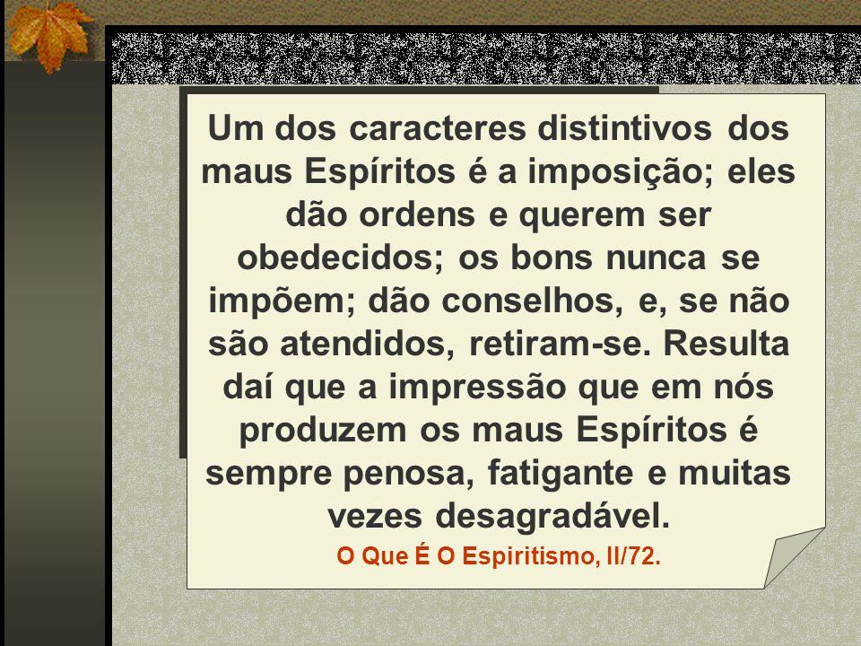 O Que É O Espiritismo, II/72.