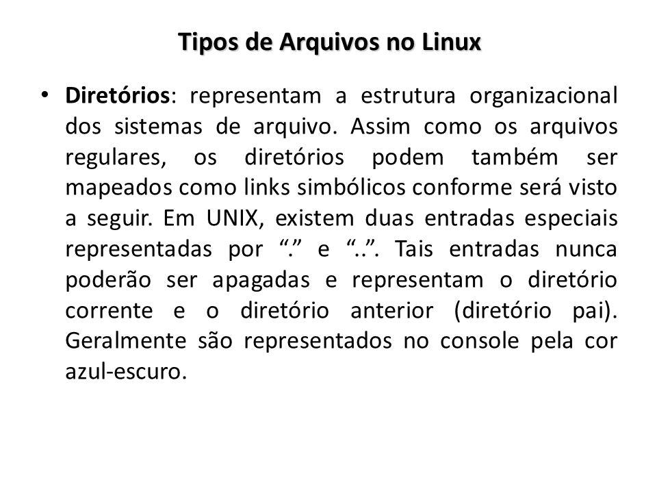 Tipos de Arquivos no Linux