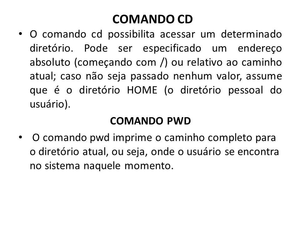 COMANDO CD