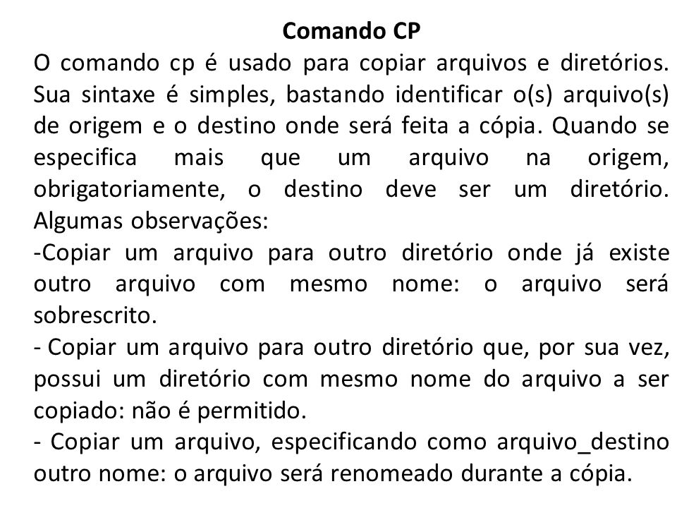 Comando CP