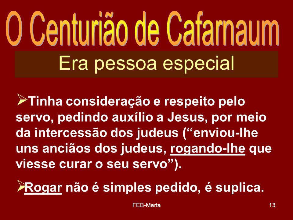 O Centurião de Cafarnaum
