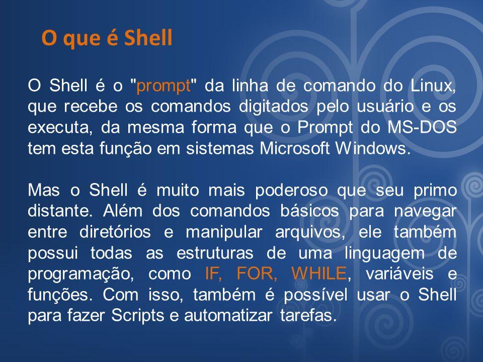 O que é Shell
