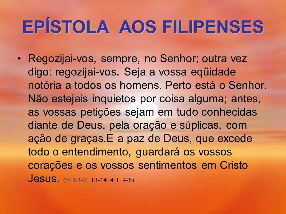 EPÍSTOLA AOS FILIPENSES