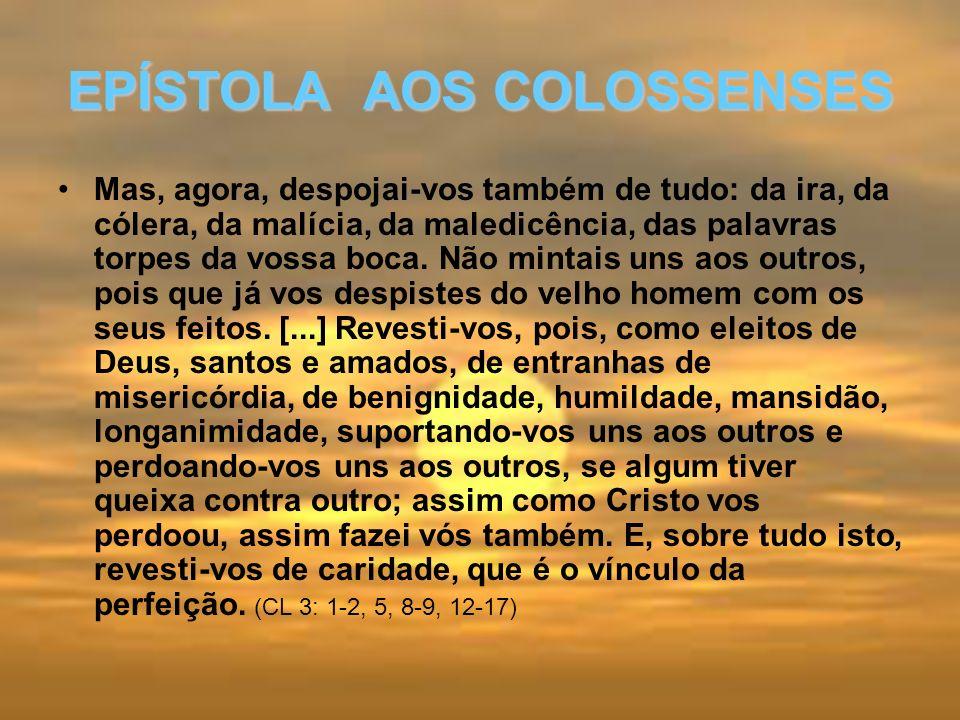 EPÍSTOLA AOS COLOSSENSES
