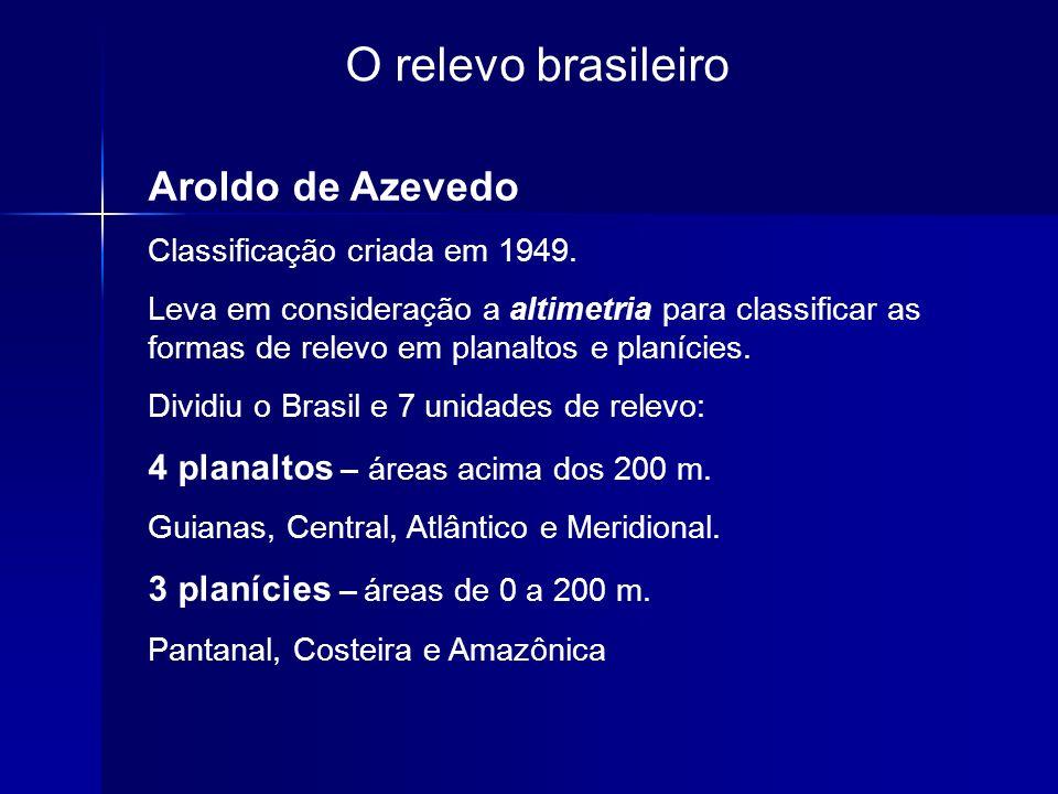 O relevo brasileiro Aroldo de Azevedo