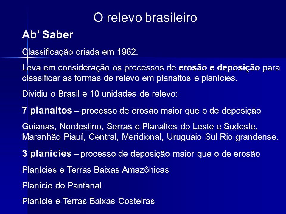 O relevo brasileiro Ab' Saber