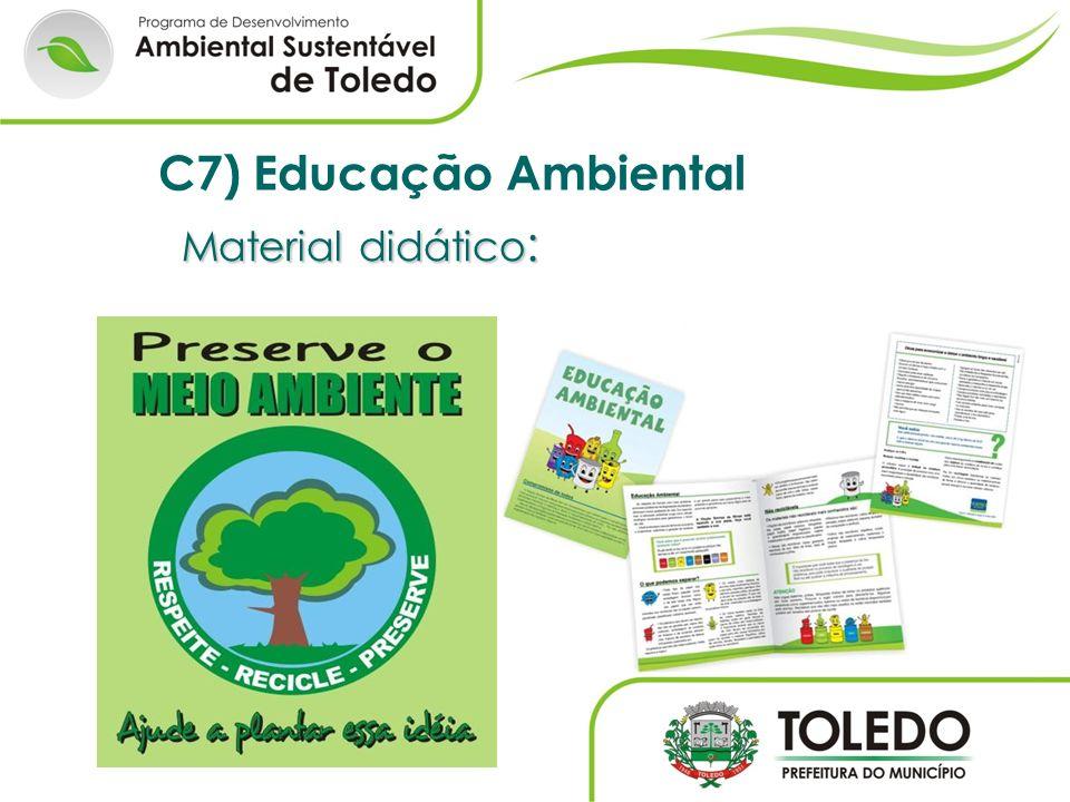 C7) Educação Ambiental Material didático: