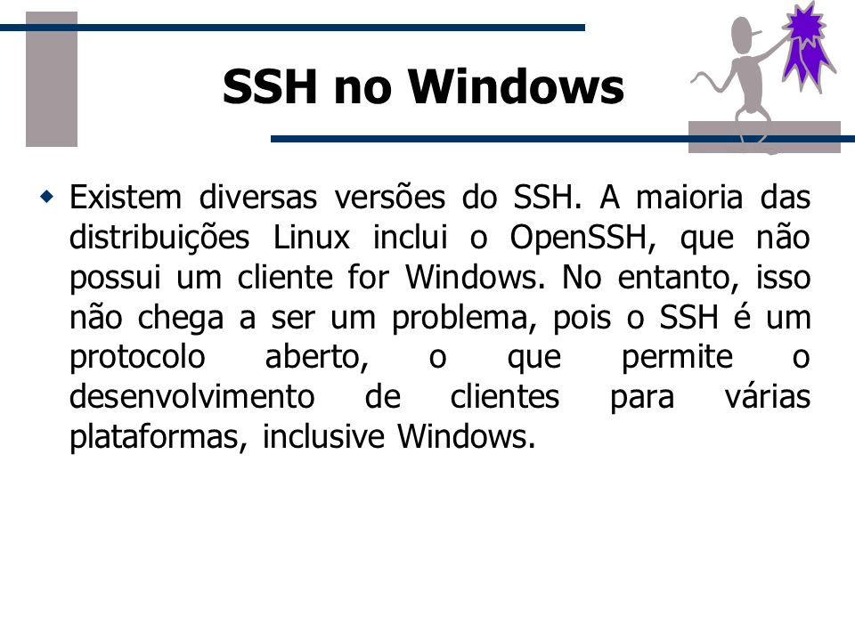 SSH no Windows