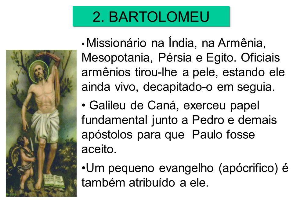 2. BARTOLOMEU