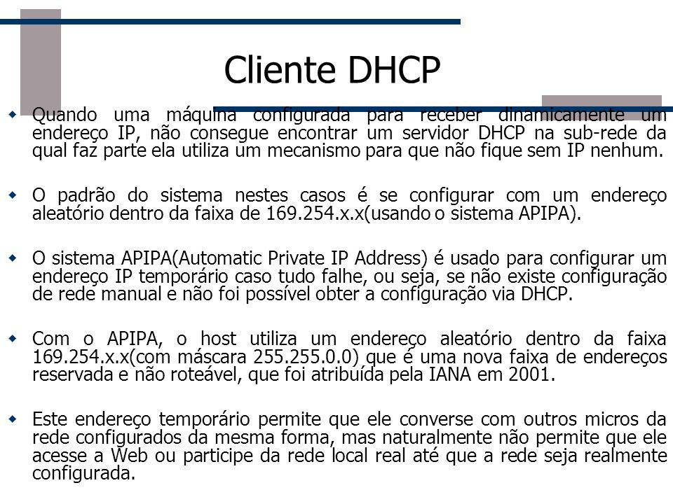 Cliente DHCP