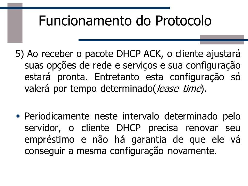 Funcionamento do Protocolo