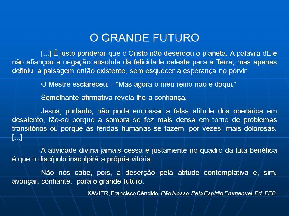 O GRANDE FUTURO