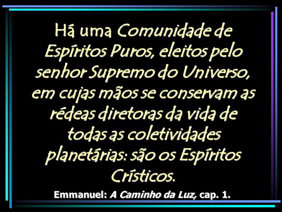 Emmanuel: A Caminho da Luz, cap. 1.