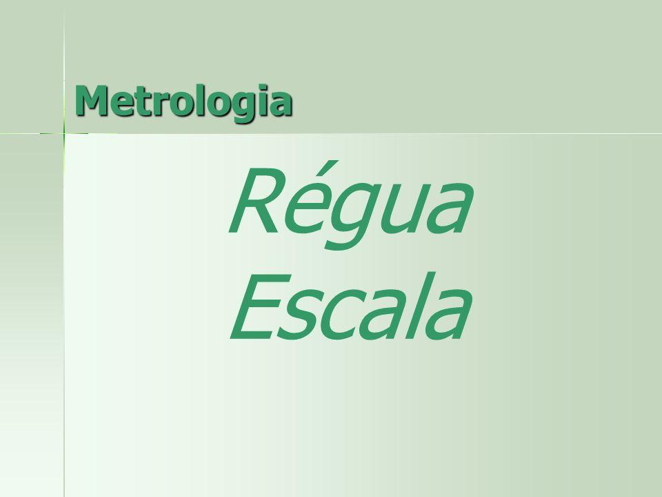 Metrologia Régua Escala