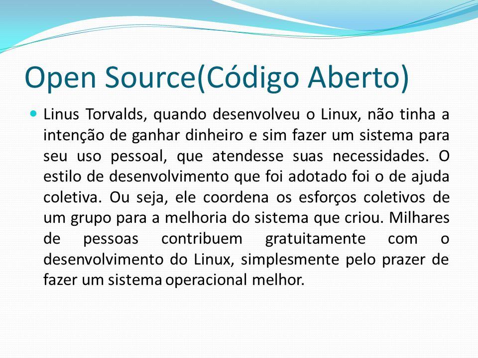 Open Source(Código Aberto)