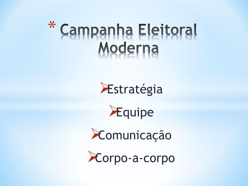 Campanha Eleitoral Moderna