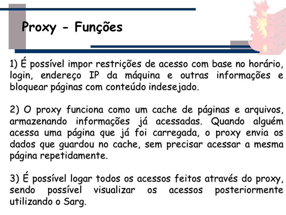 Proxy - Funções