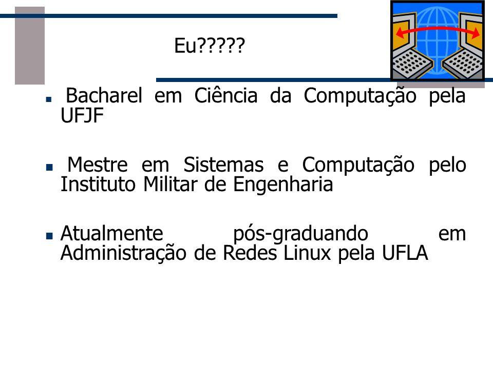 Mestre em Sistemas e Computação pelo Instituto Militar de Engenharia