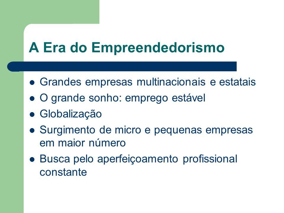 A Era do Empreendedorismo