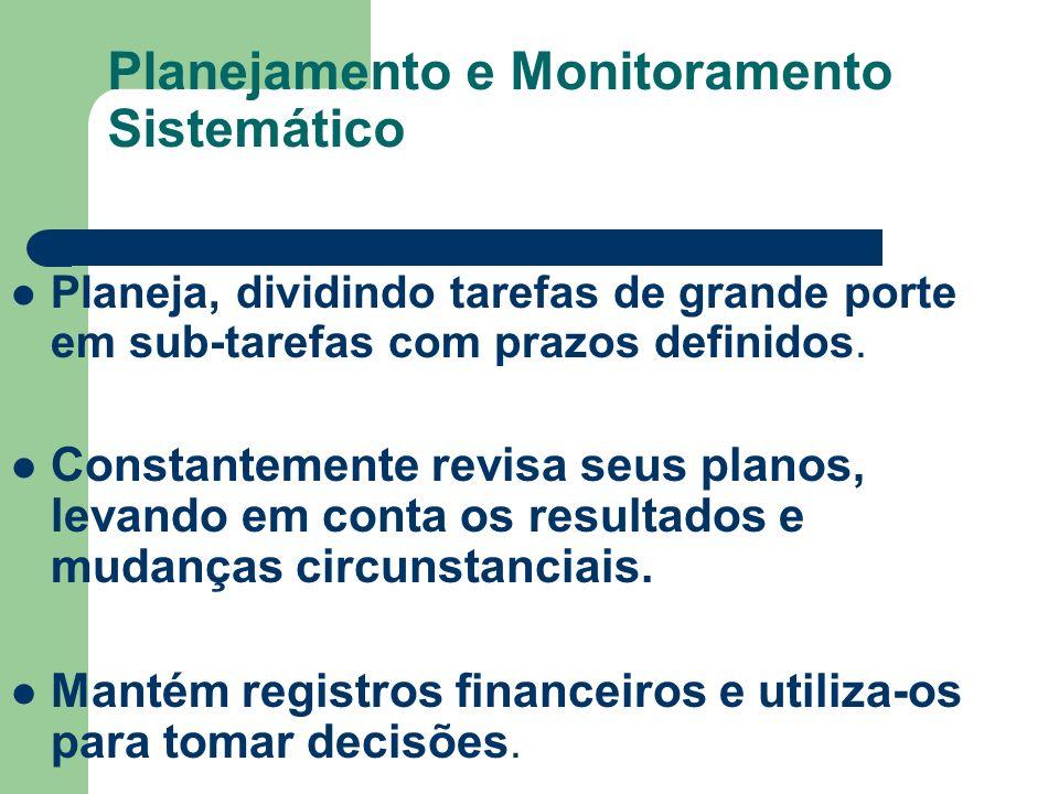 Planejamento e Monitoramento Sistemático
