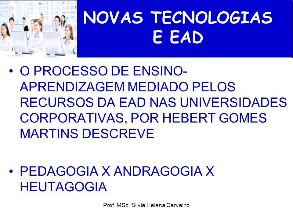 NOVAS TECNOLOGIAS E EAD