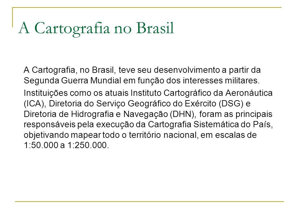 A Cartografia no Brasil