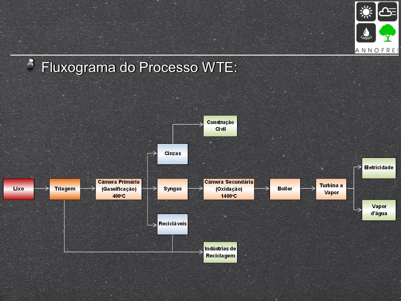 Fluxograma do Processo WTE: