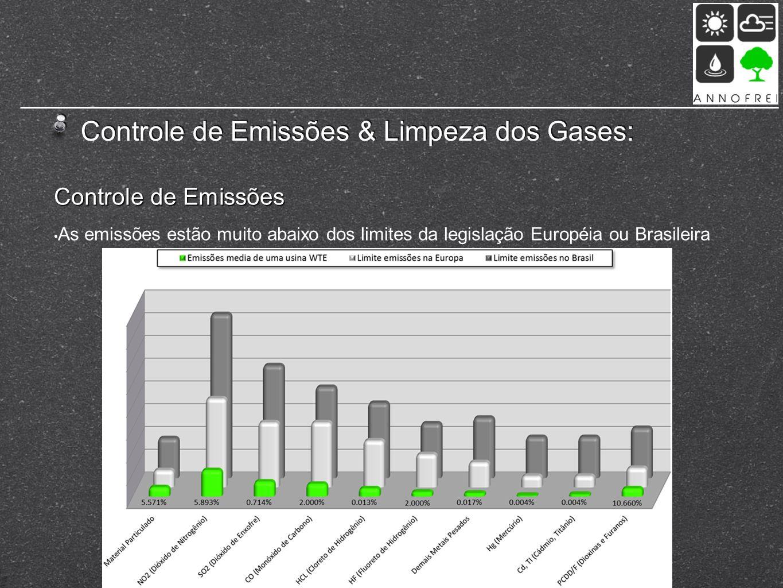 Controle de Emissões & Limpeza dos Gases: