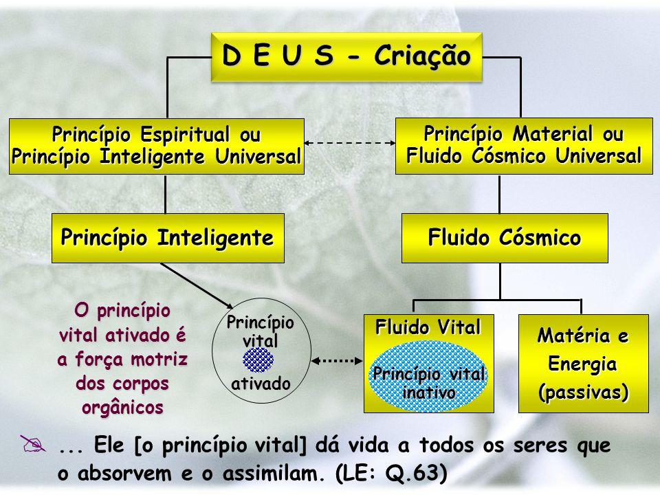 D E U S - Criação Princípio Inteligente Fluido Cósmico