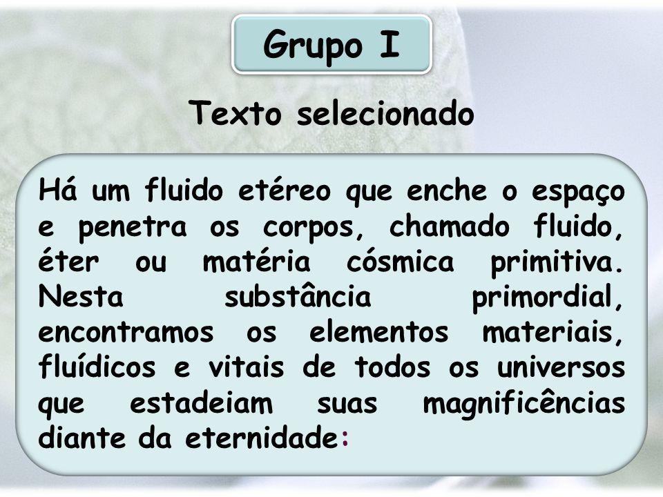 Grupo I Texto selecionado