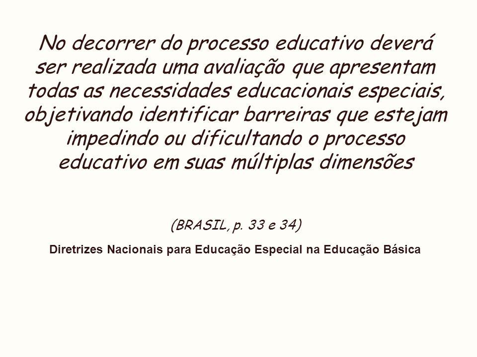 Diretrizes Nacionais para Educação Especial na Educação Básica