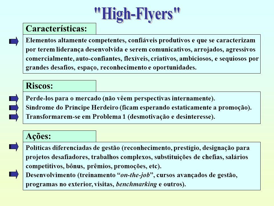 High-Flyers Características: Riscos: Ações: