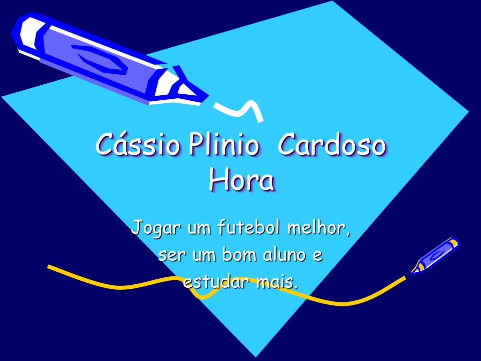Cássio Plinio Cardoso Hora