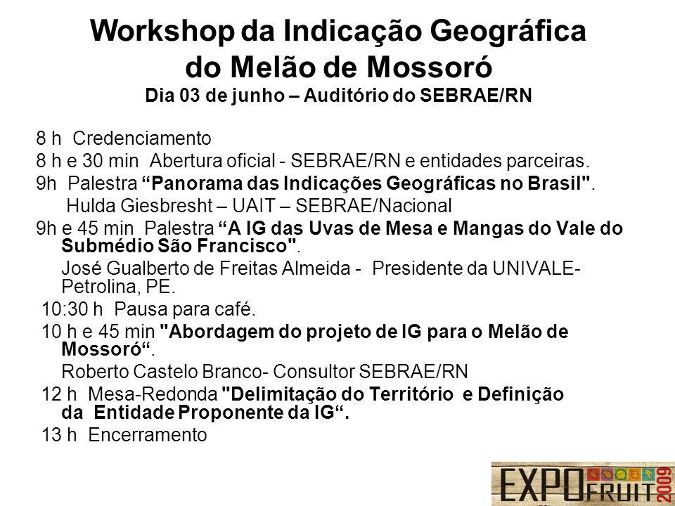 Workshop da Indicação Geográfica