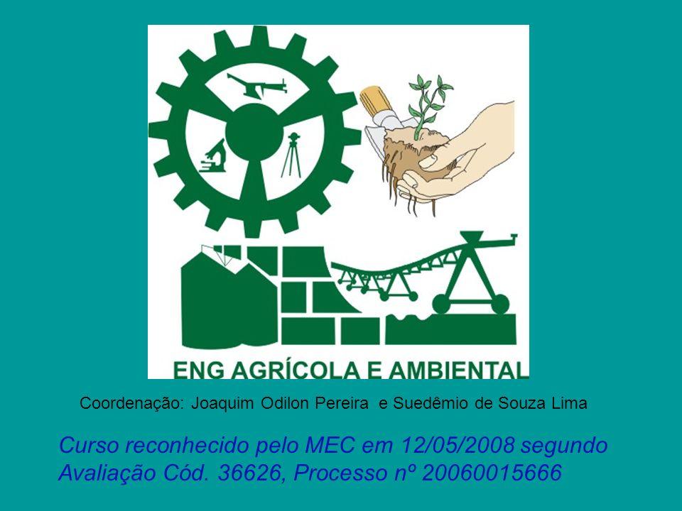 Coordenação: Joaquim Odilon Pereira e Suedêmio de Souza Lima