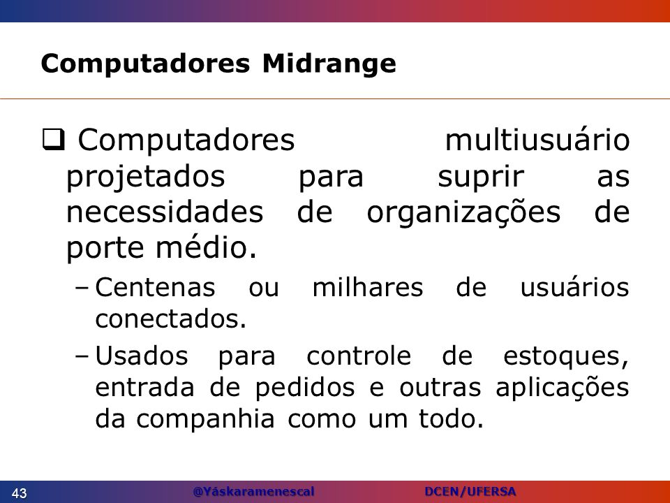 Computadores Midrange