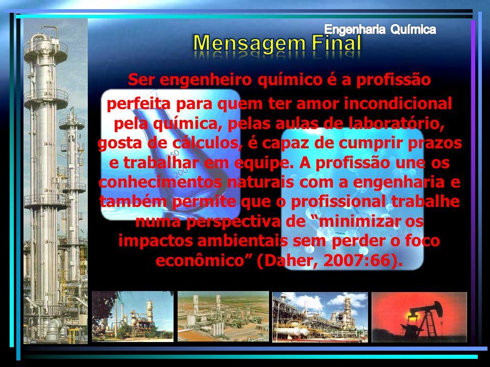 Engenharia Química Mensagem Final.