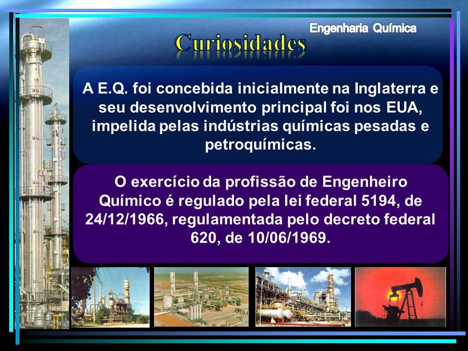 Engenharia Química Curiosidades.