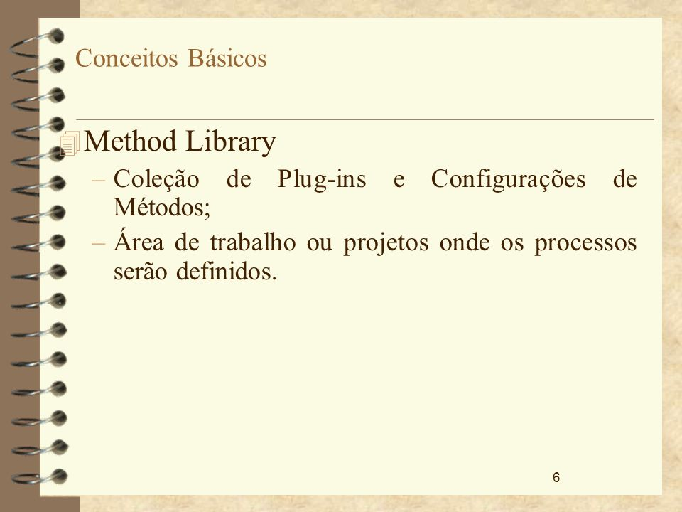 Method Library Conceitos Básicos