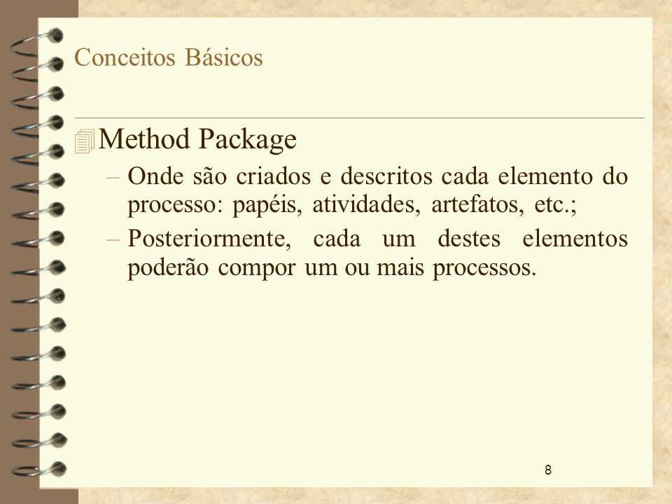 Method Package Conceitos Básicos