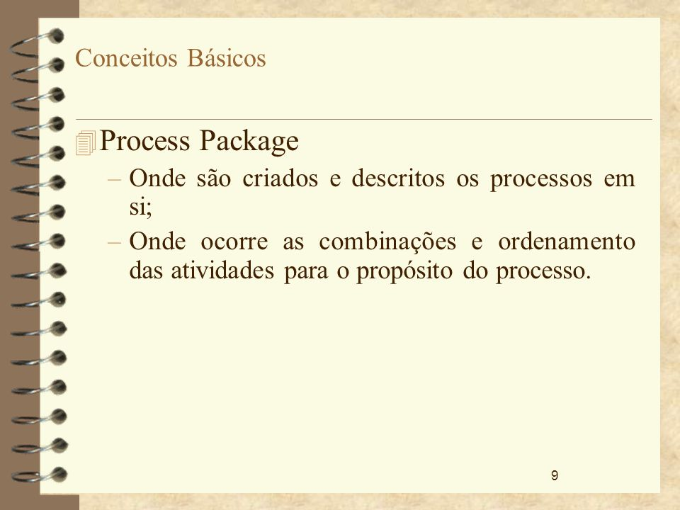 Process Package Conceitos Básicos