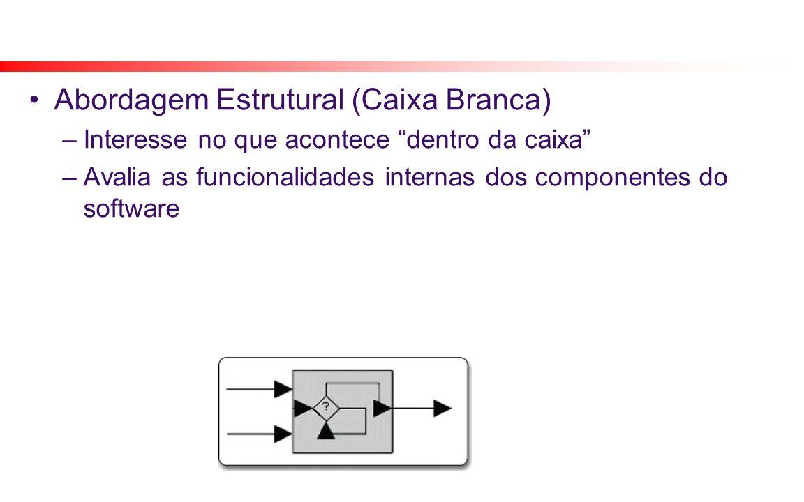Abordagem Estrutural (Caixa Branca)