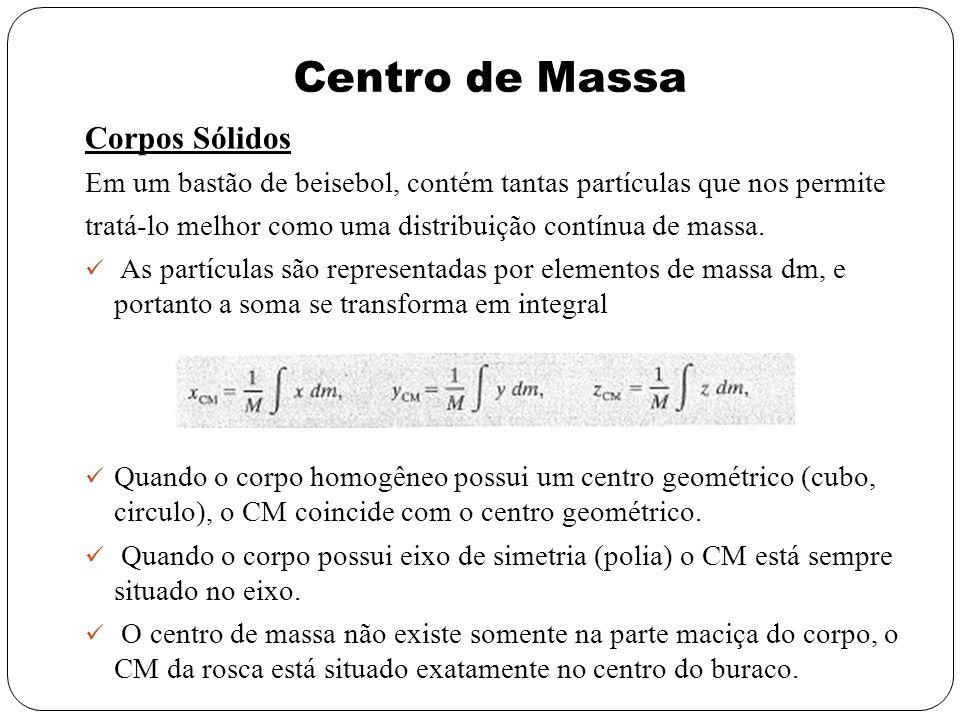 Centro de Massa Corpos Sólidos