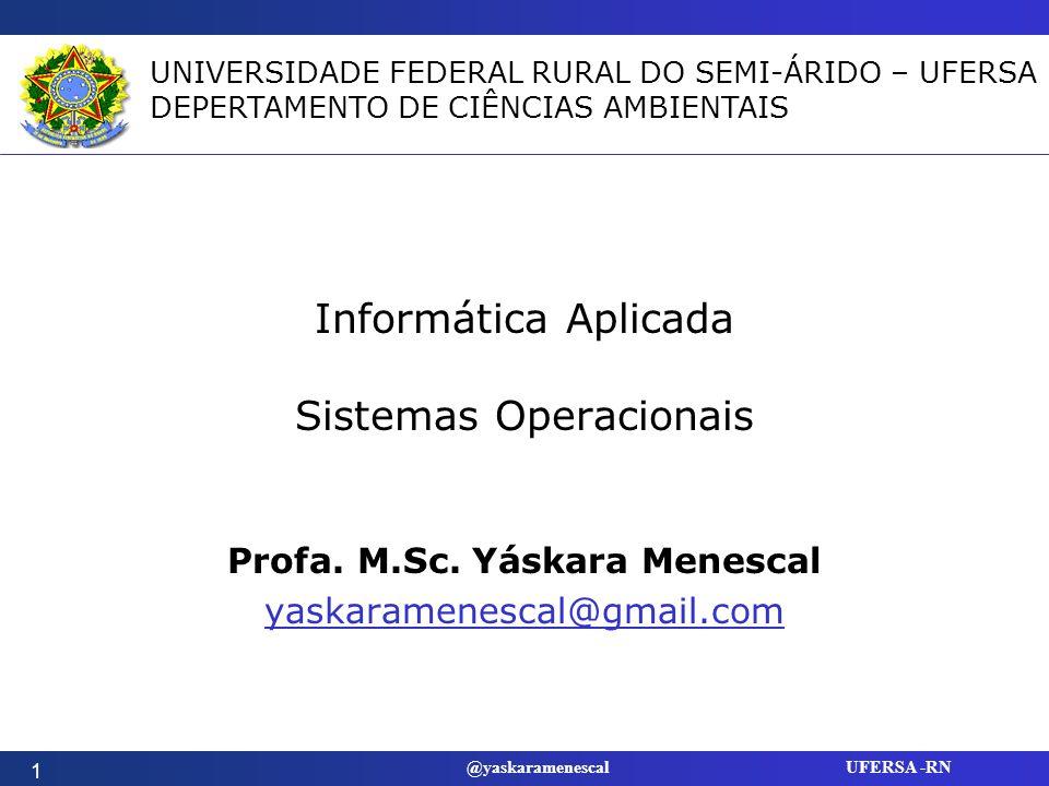 Informática Aplicada Sistemas Operacionais