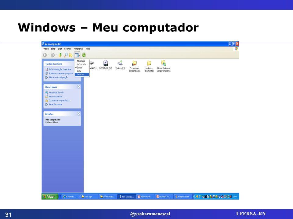 Windows – Meu computador