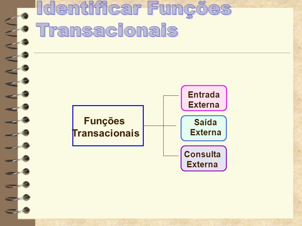Identificar Funções Transacionais