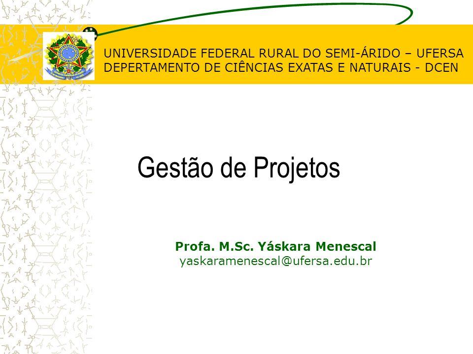 Profa. M.Sc. Yáskara Menescal