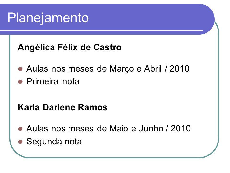 Planejamento Angélica Félix de Castro